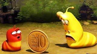 LARVA| JOGO DE MOEDA | 2018 Filme completo | Dos desenhos animados | Cartoons Para Crianças