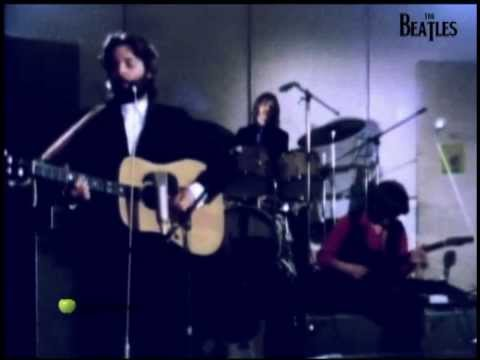 The Beatles  ( Two of us - Remastered ) HD