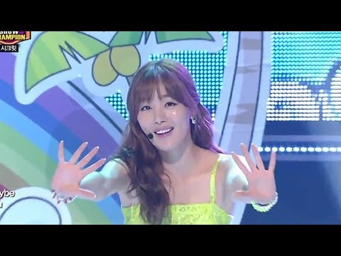 Secret - YOO HOO, 시크릿 - 유 후, Show Champion 20130508