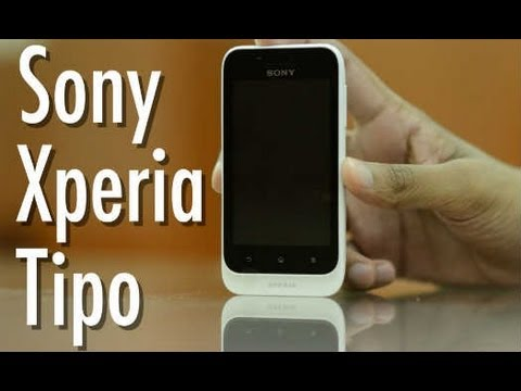 Sony Xperia Tipo  Video Review