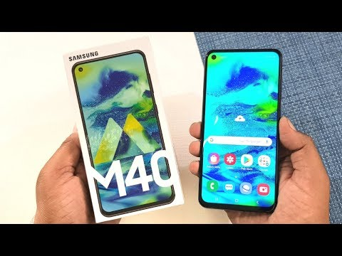 video Samsung Galaxy M40