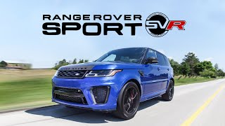 2018 Range Rover Sport SVR Review - It's Really Loud