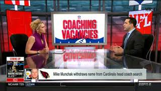 Adam Schefter On Titans To Interview Mike Vrabel Today For Head Coach Position