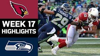 Cardinals vs. Seahawks   NFL Week 17 Game Highlights