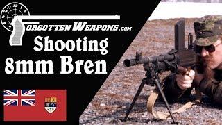 Shooting the Inglis 8mm Bren Gun