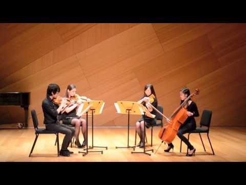 Thunderstorm: for String Quartet. Composed by Samara Rice. Performed by James Hsiao, Erin Fraboni, Jasmine Yu, and Melissa Chu