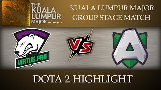 Virtus Pro vs Alliance Kuala Lumpur Major 2018 Dota 2 Highlights [10-Nov-2018]