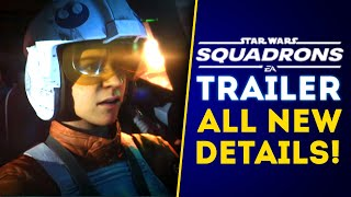 Star Wars Squadrons Trailer! All New Details and Release Date! Single Player & Multiplayer!