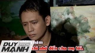 Nỗi Lòng Người Tha Hương - Karaoke - Duy Mạnh