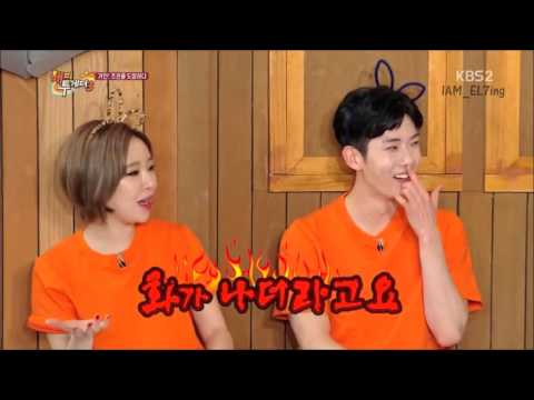 150507 Kwon & Gain - 21-yrs vs 27-yrs in Happy Together
