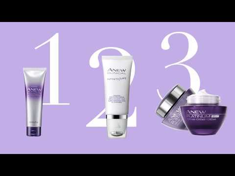 Anew Platinum Skin Care Regimen