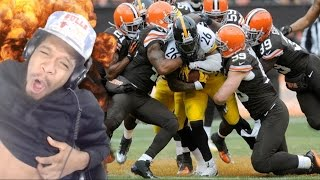 THE BEST RUNNING BACK IN THE NFL! LE'VEON BELL HIGHLIGHTS REACTION