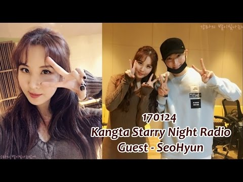 [AUDIO] 170124 「Kangta Starry Night Radio」 Guest - SeoHyun Full Cut (SNSD)