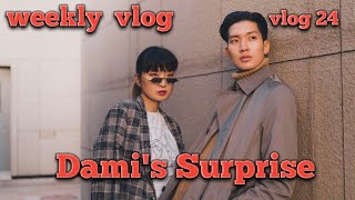 DamisUna weekly vlog, Dami's Surprise from Berlin