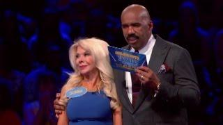 Mario Lopez vs Joey Lawrence l Celebrity Family Feud Episode 6 ( 2015 )
