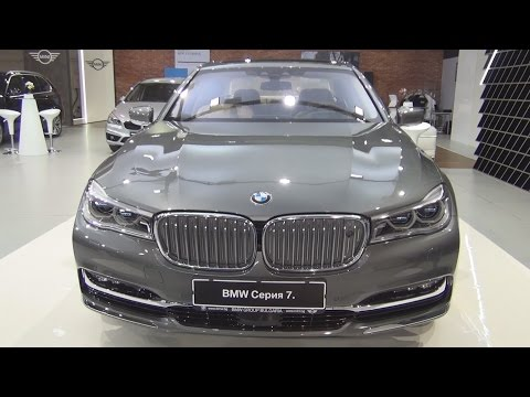 BMW 750 Li XDrive 7 Series (2016) Exterior and Interior in 3D