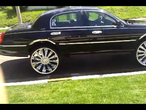 Lincoln Towncar On 26s Part 2 Videomoviles Com