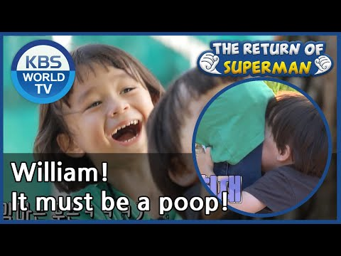 William! It must be a poop! [The Return of Superman/ ENG / 2020.09.20]