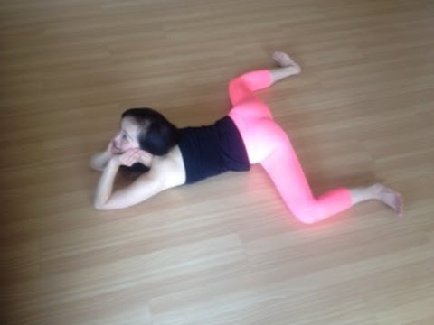 frog pose how to lower down the hips to the floor  youtube