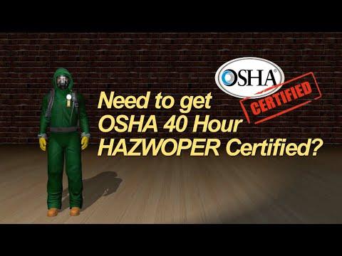 Safety Unlimited OSHA 40 Hour Hazwoper Training