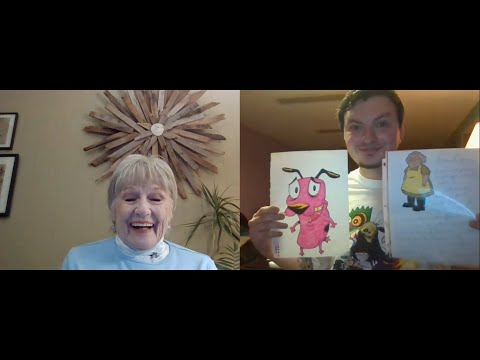 Chatting with Thea White (Muriel) from Courage the Cowardly Dog