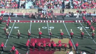'Halftime Performance (11.8.14) - Pride of the Plains Marching Band