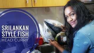 KING FISH HEAD curry southern Srilankan style!