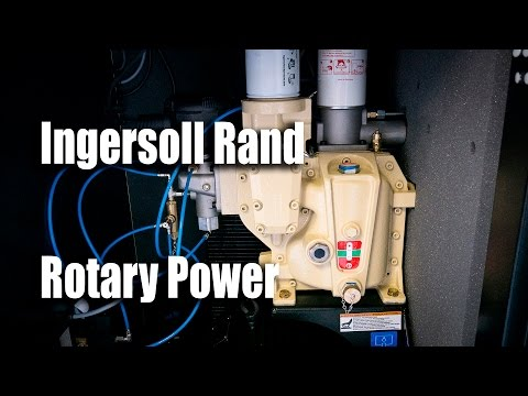 video Ingersoll Rand R7.5i-TAS-135 Rotary Screw Air Compressor
