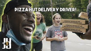 JuJu Smith-Schuster Becomes A Pizza Hut Delivery Driver For A Day!! //JuJu Smith-Schuster