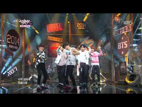 [HIT] 뮤직뱅크-방탄소년단(BTS) - 호르몬 전쟁(War Of Hormone).20141024