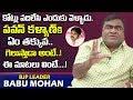 BJP leader Babu Mohan about Pawan Kalyan, Chiranjeevi