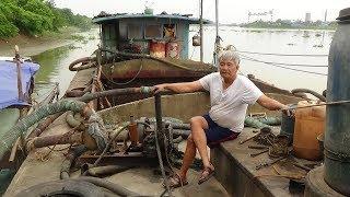 Ông Lão 71 tuổi và con Tàu - Bê -Tông -đầy Bí ẩn ! 71-year-old old man and mysterious concrete ship
