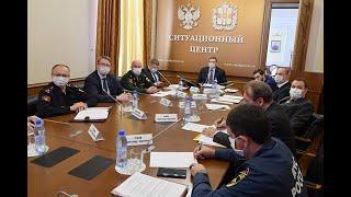 Выступление Александра Буркова по итогам оперативного штаба 29 апреля 2020 года