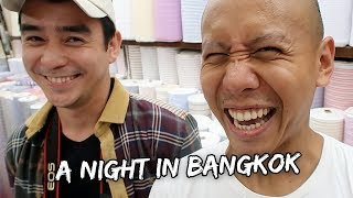 A NIGHT IN BANGKOK, THAILAND!   Vlog #194