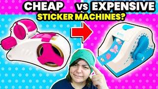 CASH or TRASH? Testing 2 SUPER STICKER Machines Craft Kits