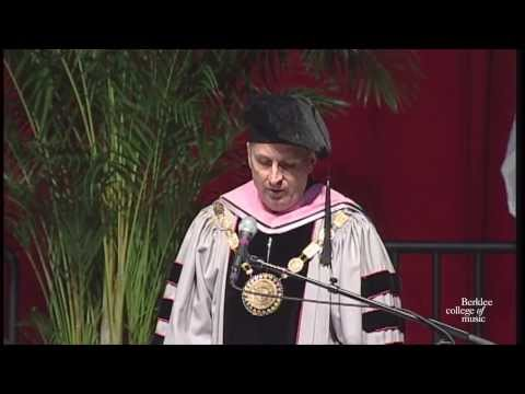 Paco de Lucia Receives an Honorary Degree from Berklee College of Music 2010