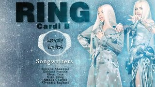 Ring - Cardi B -Kehlani - Lyrics (English Song)