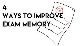 4 Ways to improve Exam Memory