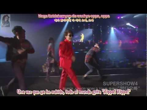 Donghae & Eunhyuk (Super Junior) - Oppa, Oppa - Sub. Español - (Rom-Han)