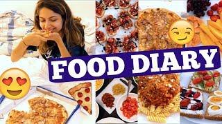 Was ich IN EINER WOCHE ESSE!! Realistisches Food Diary