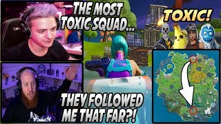 Ninja & Tim FREAK OUT After Getting HUNTED Down By The Most TOXIC Squad They've Seen...