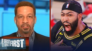 Chris Broussard on Anthony Davis' game winner for Lakers win over Denver | NBA | FIRST THINGS FIRST