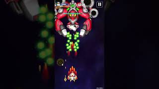 Galaxy Attack: Space Shooter - Gameplay IOS & Android  -Walkthrough #33 (Finished EARTH)