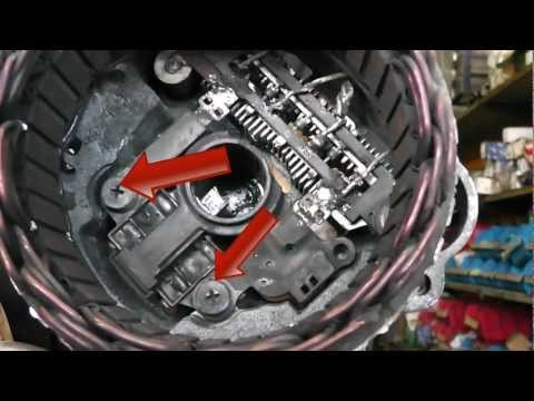 how to take apart an alternator