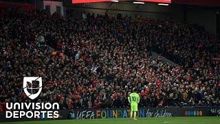 El 'Dios' del fútbol se vio pequeño en Anfield: seguimiento a Messi en su despedida de la Champions