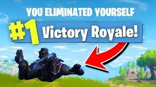We WON A Game of FORTNITE By DYING?