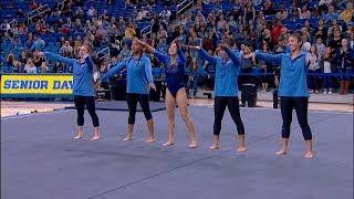 Highlights: UCLA women's gymnastics sends off seniors with powerful ceremony