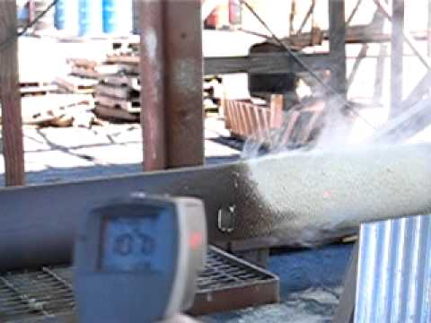 Hot Pipe CoatingTM Application Video