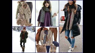Winter Casual Outfits Ideas - Latest Fashion Trends for Women 2017 / 2018