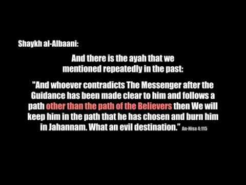 Syaikh al-Albani - Bolehkah Bersatu Dengan Kaum Sufi dan al-'Asya'irah